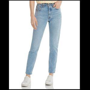 Levi's Boyfriend Ankle Jeans